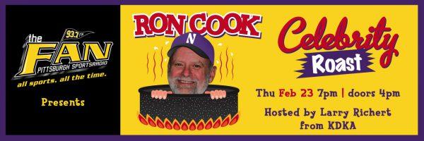 93.7 The FAN – Ron Cook Celebrity Roast