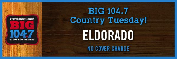 BIG 104.7 Country Tuesday w/Eldorado