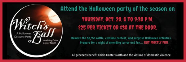 Witches Ball – Fundraiser for Crisis Center North
