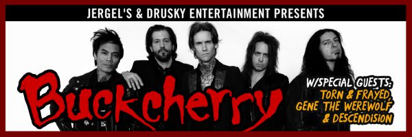 Buckcherry w/Special Guests