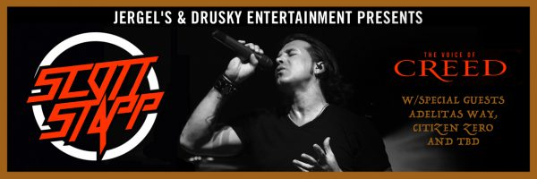 Scott Stapp – the voice of Creed