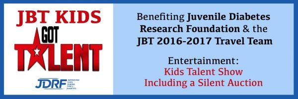 JBT Kids Got Talent Fundraiser