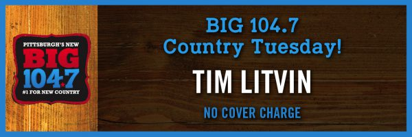 BIG 104.7 Country Tuesday w/Tim Litvin