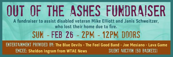 Out of the Ashes Fundraiser