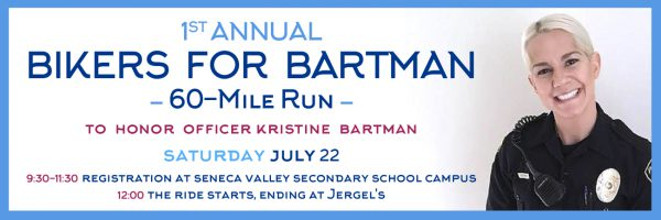 1st Annual Bikers for Bartman 60-mile Run