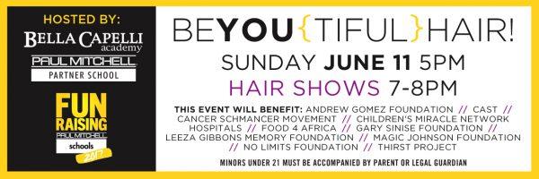 Bella Capelli – BeYOU(tiful) Hair Show Fundraiser