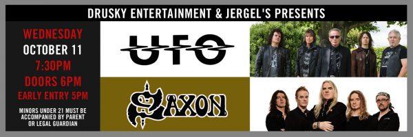UFO/Saxon