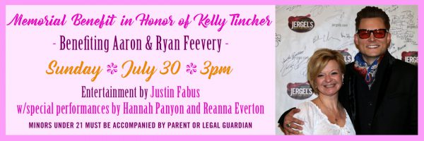 Memorial Benefit for Kelly Tincher