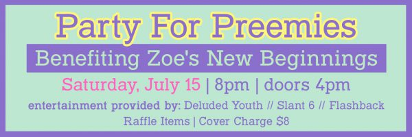 Party for Preemies Fundraiser