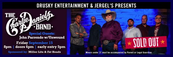 The Charlie Daniels Band – SOLD OUT!