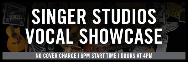 Singer Studios Vocal Showcase