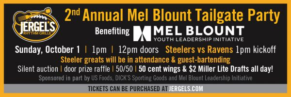 2nd Annual Mel Blount Tailgate Party