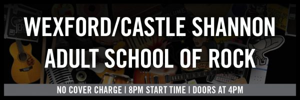 Wexford/Castle Shannon Adult School of Rock