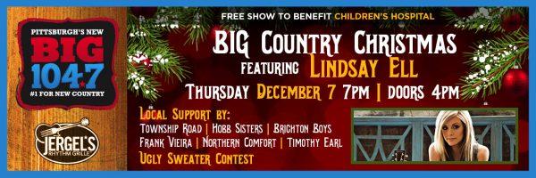 BIG 104.7 Country Christmas w/Lindsay Ell