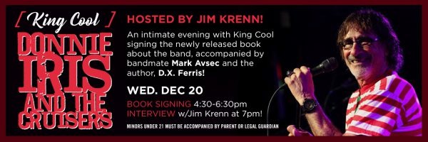Donnie Iris Book Signing w/Jim Krenn