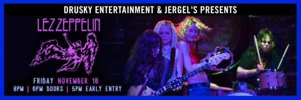 Lez Zeppelin – All Female Zeppelin Tribute