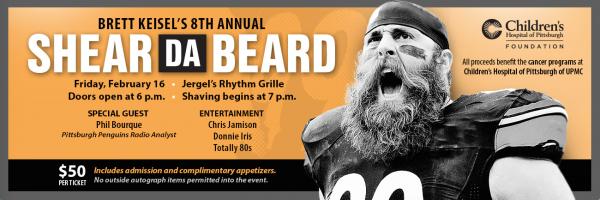 Brett Keisel's 8th Annual – Shear Da Beard