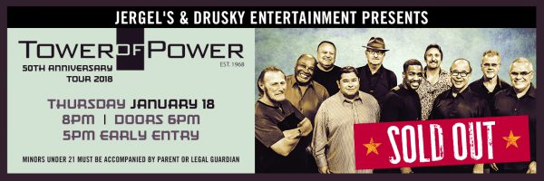 Tower of Power – SOLD OUT!
