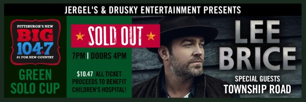 BIG 104.7 Green Solo Cup w/Special Guest Lee Brice