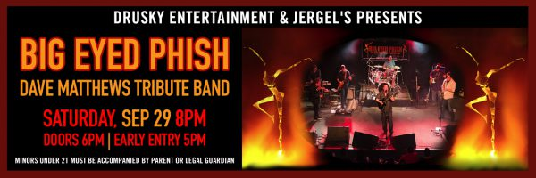 Big Eyed Phish – Dave Matthews Tribute Band