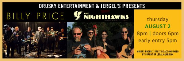 Billy Price Band + The Nighthawks