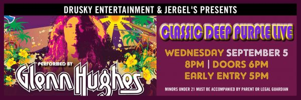 Classic Deep Purple performed by Glenn Hughes