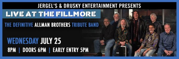 Live at the Fillmore – Allman Brothers Tribute