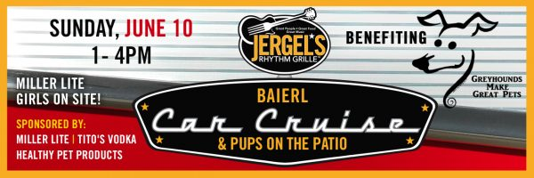 Baierl Car Cruise & Pups on the Patio