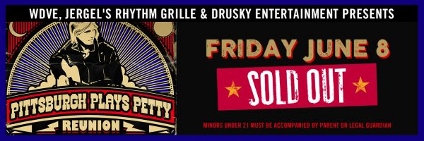 Pittsburgh Plays Petty – SOLD OUT!
