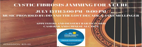 Cystic Fibrosis – Jamming for a Cure