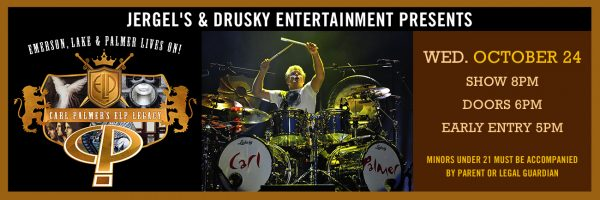 Carl Palmer's ELP Legacy – Emerson, Lake & Palmer Lives On!