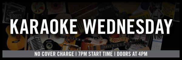Karaoke Wednesday!