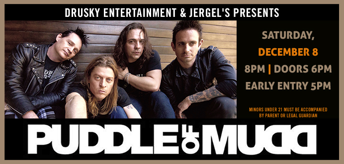 Puddle of Mudd_Web - Jergel's Rhythm Grille