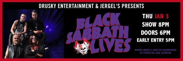 Black Sabbath Lives