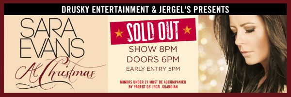 Sara Evans Christmas – SOLD OUT!