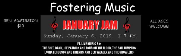 Fostering Music – January Jam