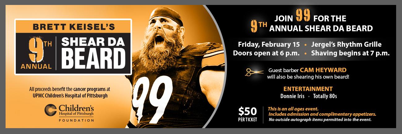 Brett Keisel's 9th Annual – Shear Da Beard