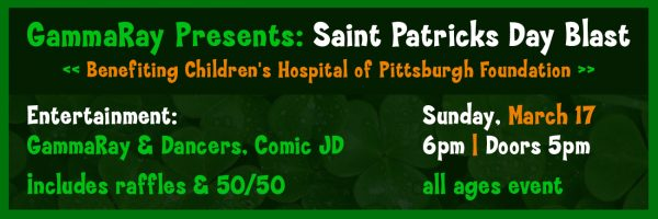 GammaRay Presents: Saint Patrick's Day Blast
