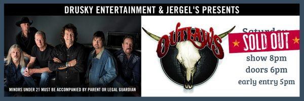 The Outlaws – SOLD OUT!