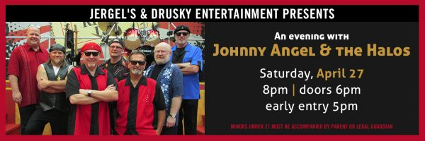 An evening with Johnny Angel & the Halos