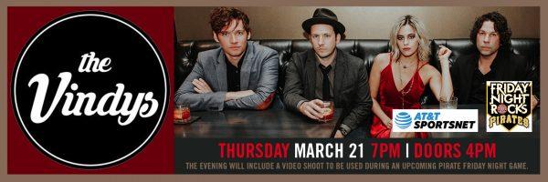 Friday Night Rocks – Video Shoot w/The Vindys