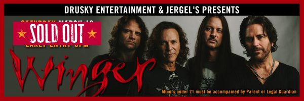 Winger – SOLD OUT!