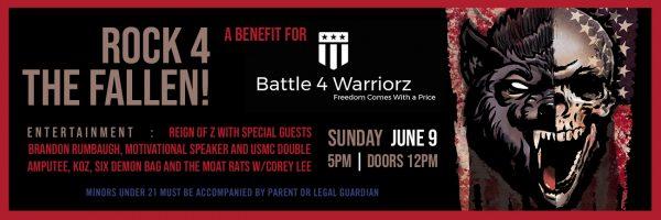 Rock 4 the Fallen – A Benefit for Battle 4 Warriorz