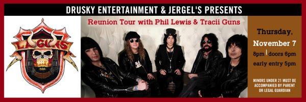 LA Guns – 30 Year Reunion Tour