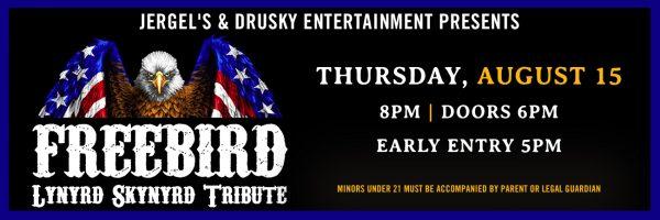 Freebird – Lynyrd Skynyrd Tribute