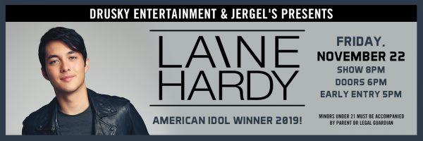 Laine Hardy – 2019 American Idol Winner!