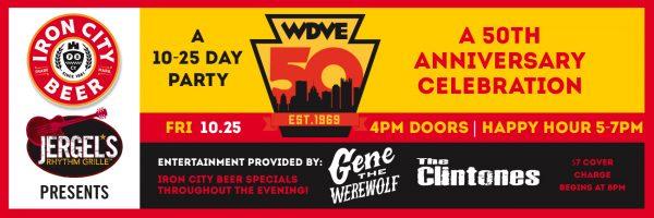 WDVE – 50 Year Anniversary Celebration!