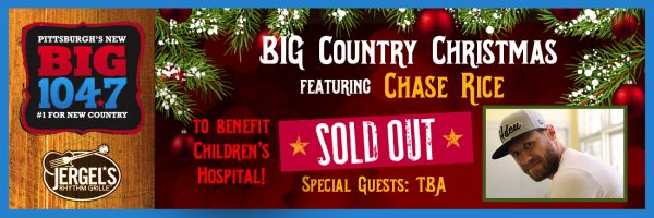 BIG 104.7 Country Christmas – SOLD OUT!
