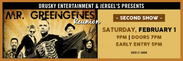 Mr. Greengenes Reunion – 2nd Show