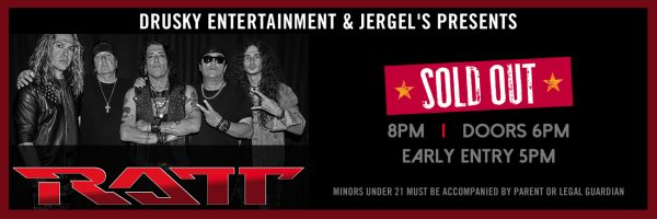 Ratt – SOLD OUT!